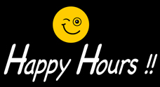 Happy Hours!!!